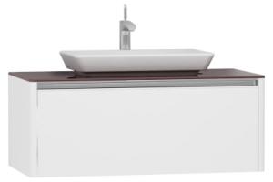 T4 Yüksek tezgah ünitesi, 100 cm, Parlak Beyaz